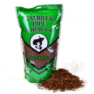 Gambler Mint Pipe Tobacco 16 Oz Bag Roll Your Own