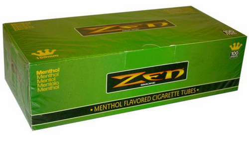 Zen Menthol 100 Filter Tubes